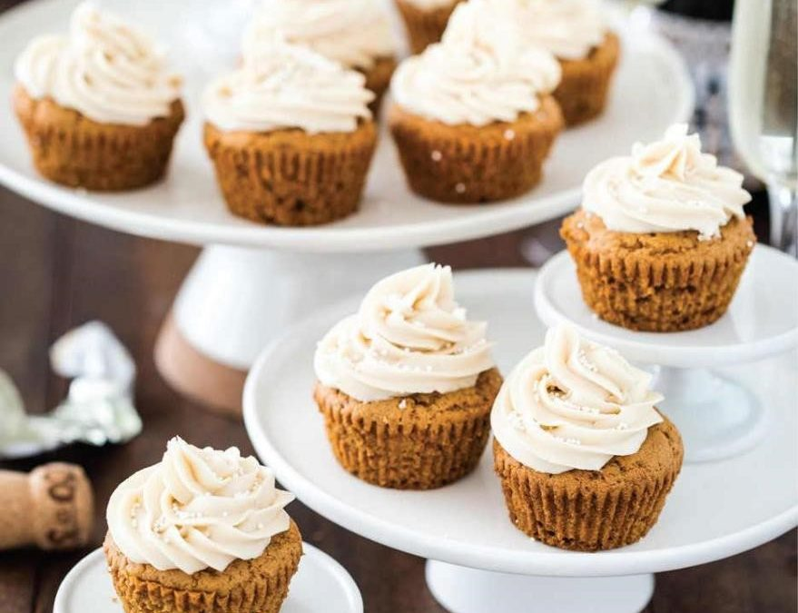 Champagne Cupcakes