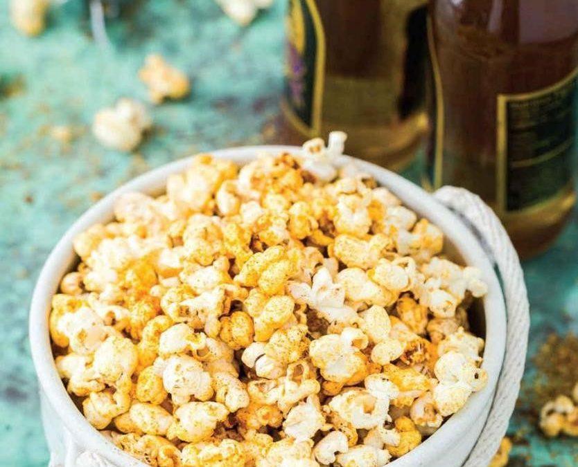 Cheesy Spiced Popcorn