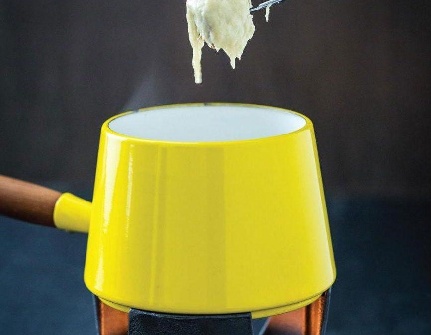 Silky Cheese Fondue